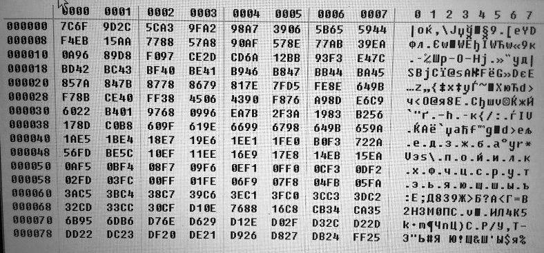 Расположение EEPROM 93c56 в