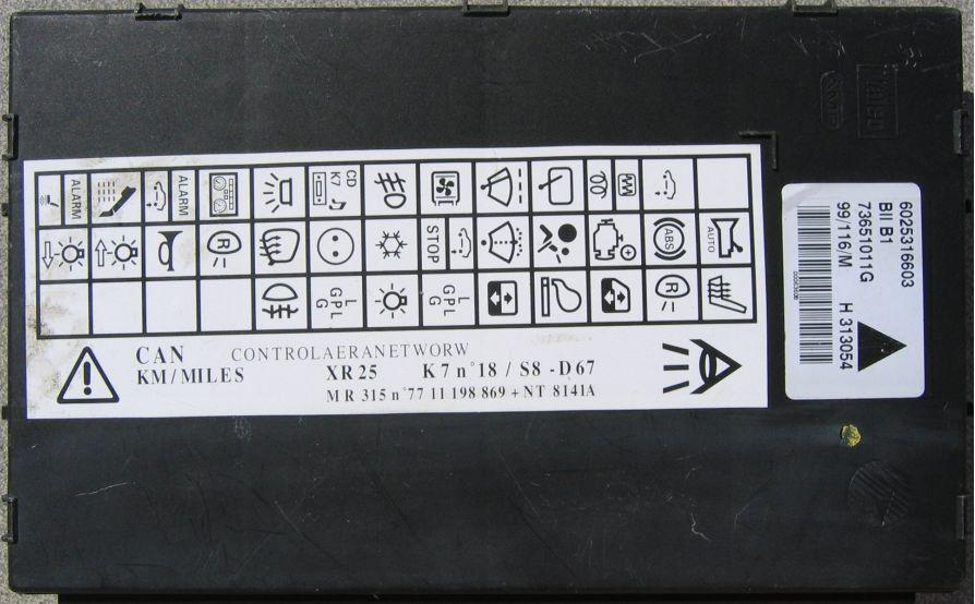 обозначение символов приборной панели renault master 2000